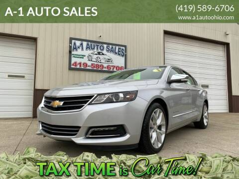 2019 Chevrolet Impala for sale at A-1 AUTO SALES in Mansfield OH