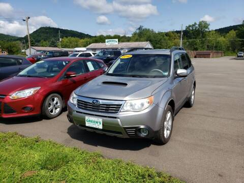 2010 Subaru Forester for sale at Greens Auto Mart Inc. in Wysox PA