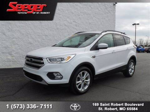 2017 Ford Escape for sale at SEEGER TOYOTA OF ST ROBERT in St Robert MO