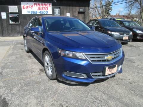 2014 Chevrolet Impala for sale at EZ Finance Auto in Calumet City IL