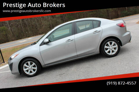 2011 Mazda MAZDA3 for sale at Prestige Auto Brokers in Raleigh NC