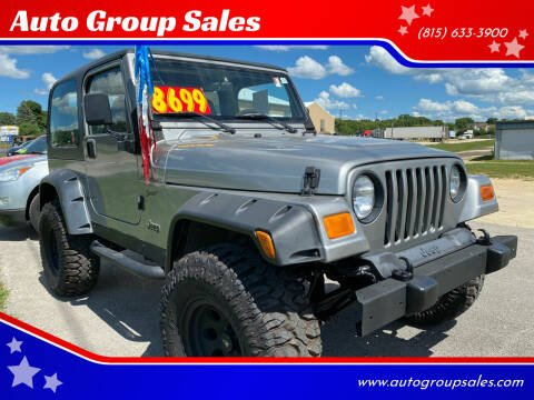 2000 Jeep Wrangler for sale at Auto Group Sales in Roscoe IL