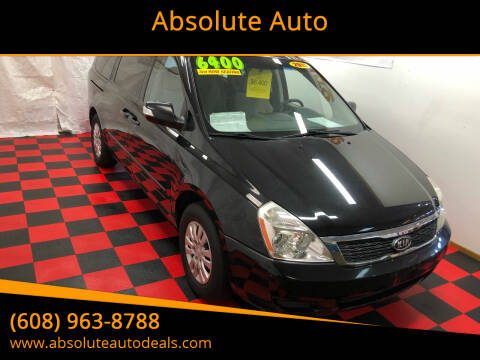 2011 Kia Sedona for sale at Absolute Auto in Baraboo WI