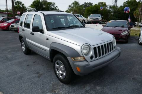 2005 Jeep Liberty for sale at J Linn Motors in Clearwater FL