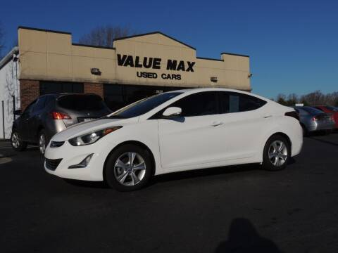 2016 Hyundai Elantra for sale at ValueMax Used Cars in Greenville NC