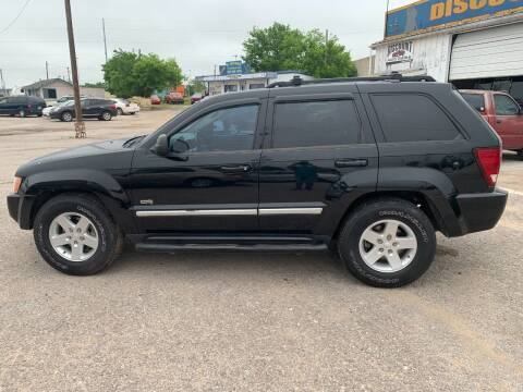 2006 Jeep Grand Cherokee for sale at WF AUTOMALL in Wichita Falls TX