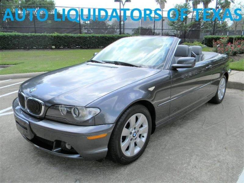 2006 BMW 3 Series for sale at AUTO LIQUIDATORS OF TEXAS in Richmond TX