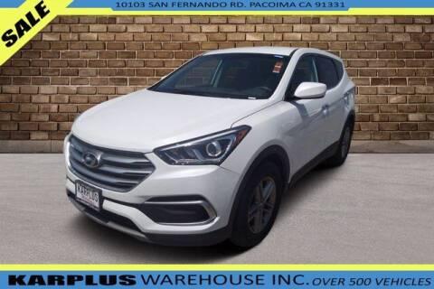 2018 Hyundai Santa Fe Sport for sale at Karplus Warehouse in Pacoima CA