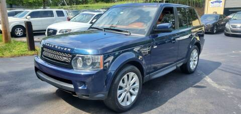 2012 Land Rover Range Rover Sport for sale at GA Auto IMPORTS  LLC in Buford GA