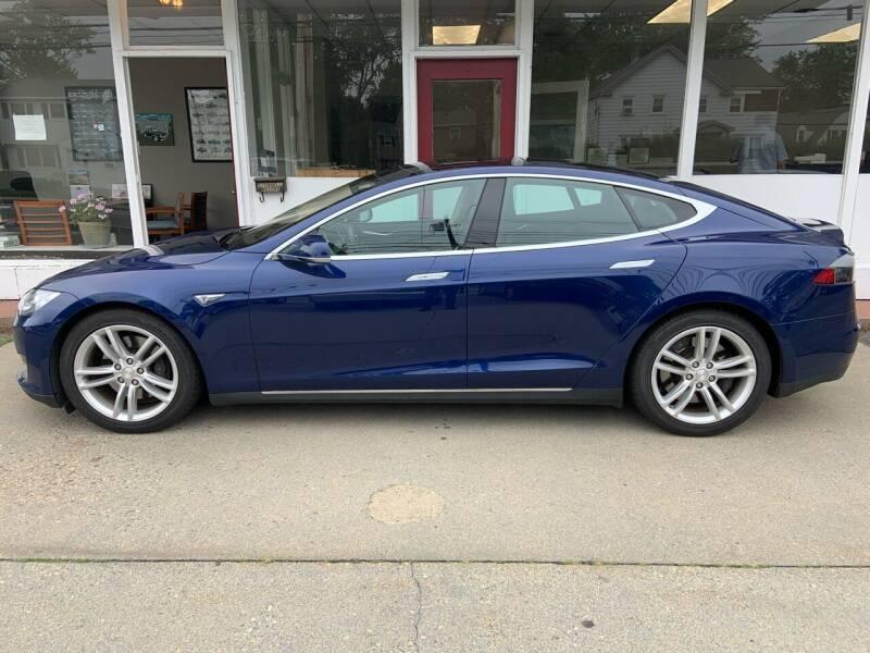 2015 Tesla Model S for sale at O'Connell Motors in Framingham MA