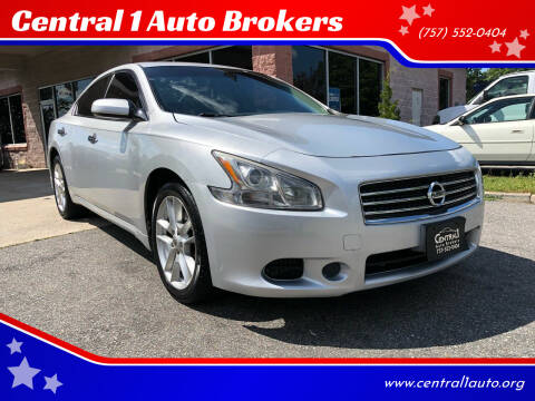 2011 Nissan Maxima for sale at Central 1 Auto Brokers in Virginia Beach VA