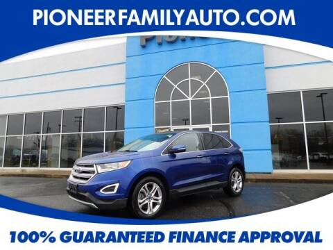 2015 Ford Edge for sale at Pioneer Family auto in Marietta OH