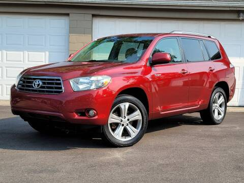 2008 Toyota Highlander for sale at Riverfront Auto Sales in Middletown OH