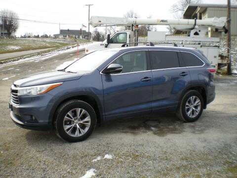 2015 Toyota Highlander for sale at Starrs Used Cars Inc in Barnesville OH
