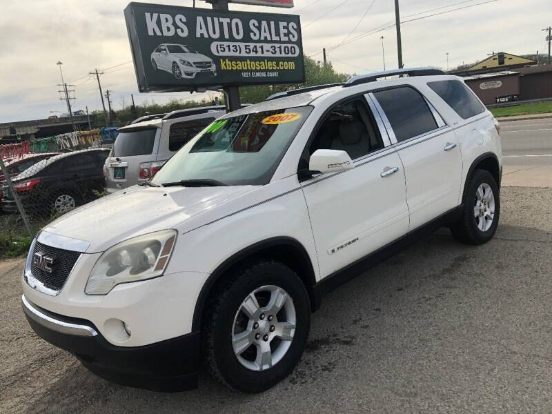 2007 GMC Acadia for sale at KBS Auto Sales in Cincinnati OH