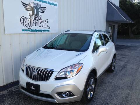 2014 Buick Encore for sale at Team Knipmeyer in Beardstown IL