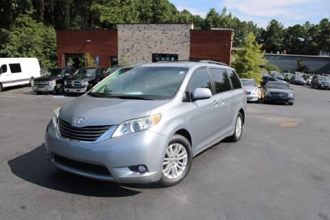 2013 Toyota Sienna for sale at Atlanta Unique Auto Sales in Norcross GA