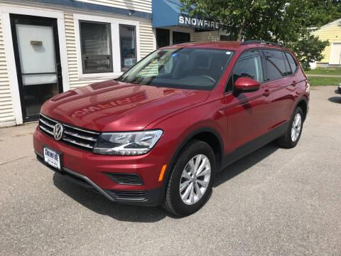2019 Volkswagen Tiguan for sale at Snowfire Auto in Waterbury VT