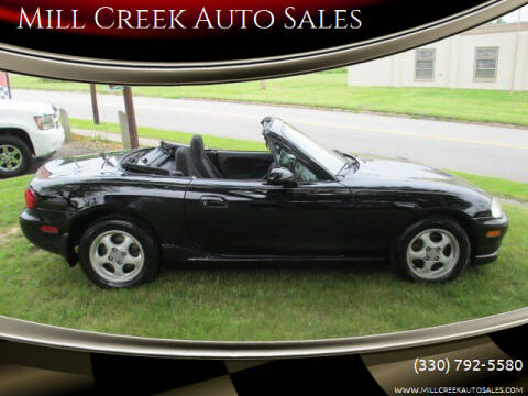 1999 Mazda MX-5 Miata for sale at Mill Creek Auto Sales in Youngstown OH