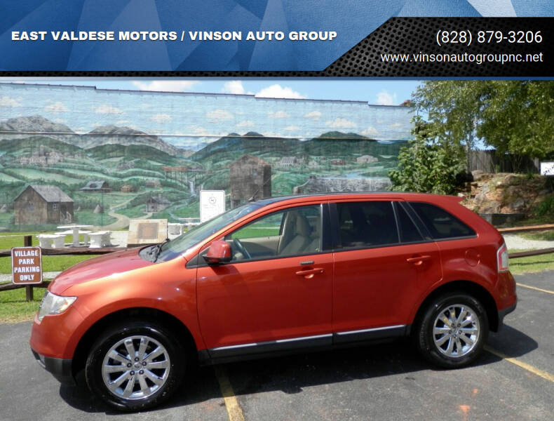 2007 Ford Edge for sale at EAST VALDESE MOTORS / VINSON AUTO GROUP in Valdese NC