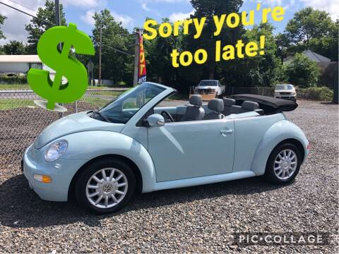 2005 Volkswagen New Beetle Convertible for sale at 73 S Auto Sales in Hammonton NJ