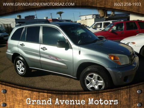 2005 Toyota RAV4 for sale at Grand Avenue Motors in Phoenix AZ
