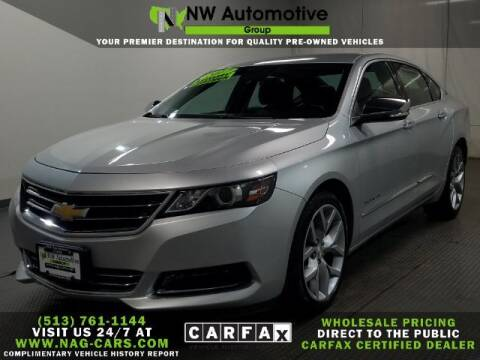 2017 Chevrolet Impala for sale at NW Automotive Group in Cincinnati OH