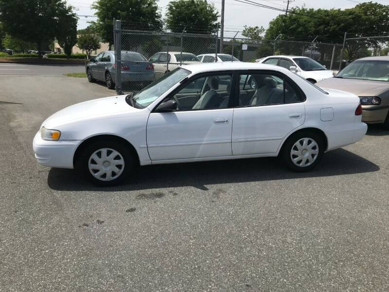 1998 Toyota Corolla for sale at Mike's Auto Sales of Charlotte in Charlotte NC