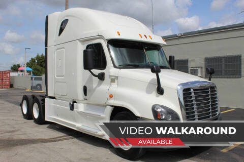 2015 Freightliner Cascadia for sale at Truck and Van Outlet in Miami FL