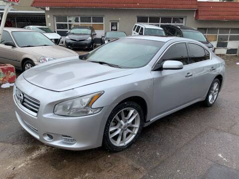 2013 Nissan Maxima for sale at STS Automotive in Denver CO