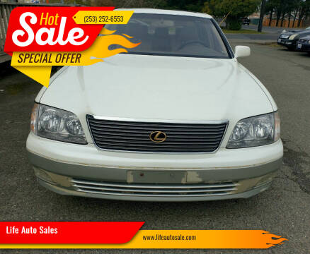 1998 Lexus LS 400 for sale at Life Auto Sales in Tacoma WA