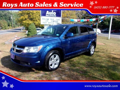 2010 Dodge Journey for sale at Roys Auto Sales & Service in Hudson NH