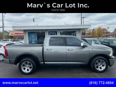 2011 RAM Ram Pickup 1500 for sale at Marv`s Car Lot Inc. in Zeeland MI
