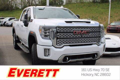 2020 GMC Sierra 2500HD for sale at Everett Chevrolet Buick GMC in Hickory NC