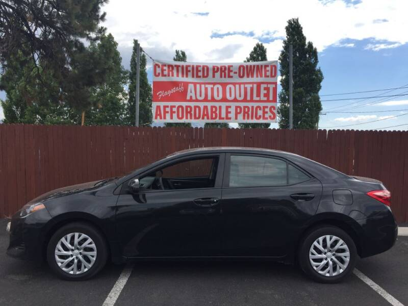 2017 Toyota Corolla for sale at Flagstaff Auto Outlet in Flagstaff AZ