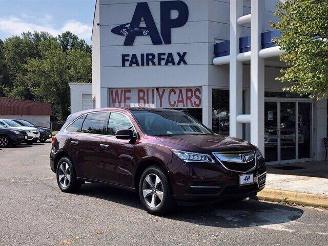 2014 Acura MDX for sale at AP Fairfax in Fairfax VA