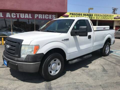 2009 Ford F-150 for sale at Sanmiguel Motors in South Gate CA