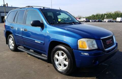 2005 GMC Envoy for sale at Angelo's Auto Sales in Lowellville OH