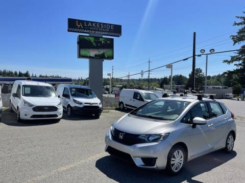 2015 Honda Fit for sale at Lakeside Auto in Lynnwood WA