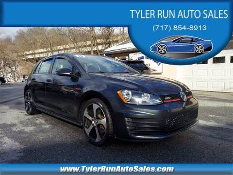 2015 Volkswagen Golf GTI for sale at Tyler Run Auto Sales in York PA