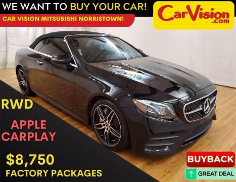 2019 Mercedes-Benz E-Class for sale at Car Vision Mitsubishi Norristown in Trooper PA