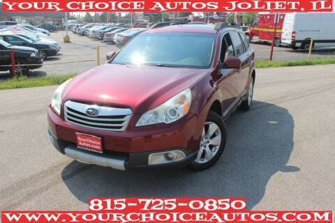 2012 Subaru Outback for sale at Your Choice Autos - Joliet in Joliet IL