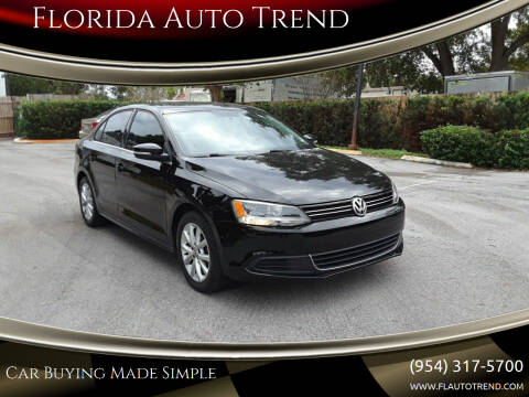 2014 Volkswagen Jetta for sale at Florida Auto Trend in Plantation FL