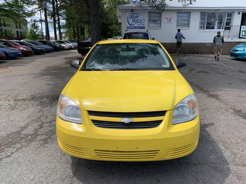 2008 Chevrolet Cobalt for sale at MEEK MOTORS in North Chesterfield VA
