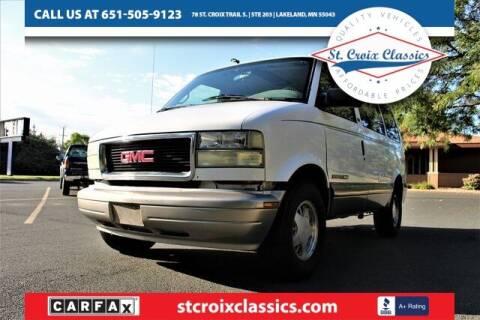 2002 GMC Safari for sale at St. Croix Classics in Lakeland MN