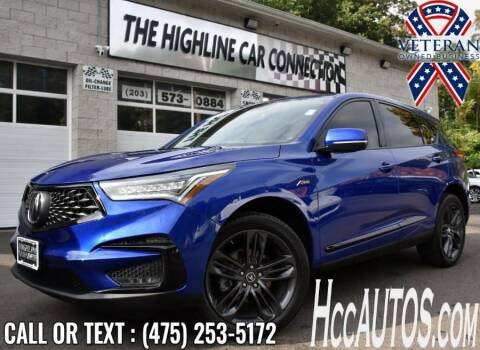2020 Acura RDX for sale at The Highline Car Connection in Waterbury CT