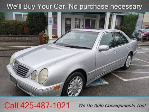 2000 Mercedes-Benz E-Class for sale at Platinum Autos in Woodinville WA