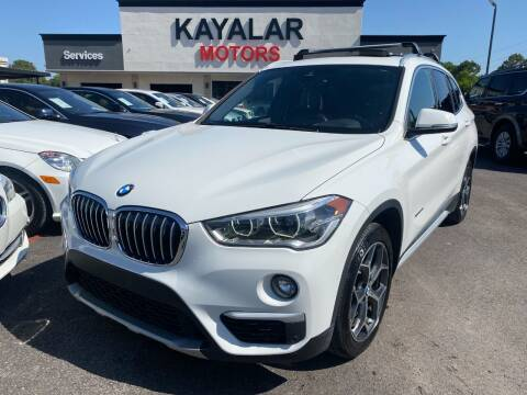 2016 BMW X1 for sale at KAYALAR MOTORS in Houston TX