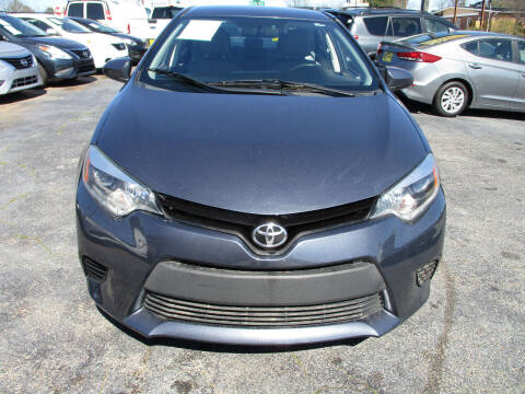 2015 Toyota Corolla for sale at LOS PAISANOS AUTO & TRUCK SALES LLC in Peachtree Corners GA