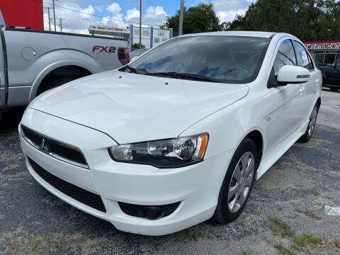 2015 Mitsubishi Lancer for sale at Always Approved Autos in Tampa FL
